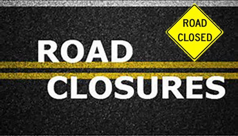 Road Closure sign -2-Road