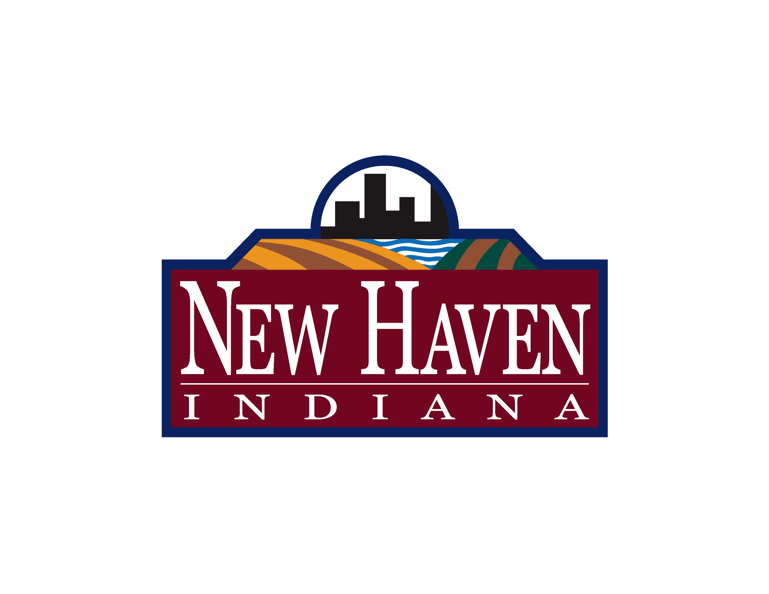 New Haven Entry Sign Artwork Vector