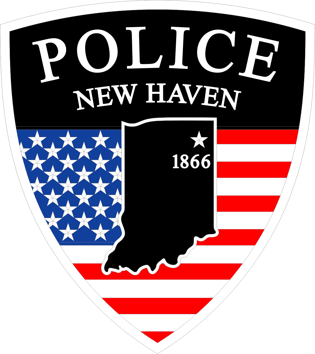 New Haven Police (IN) - SHOULDER