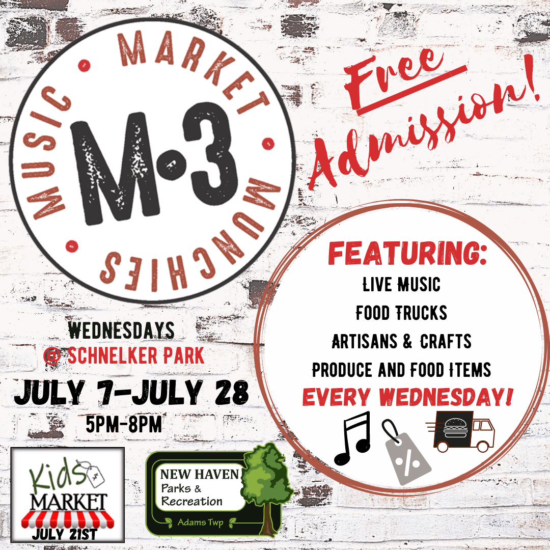 2021 M3: Music, Market, & Munchies event description
